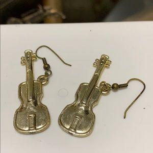Guitars Earrings